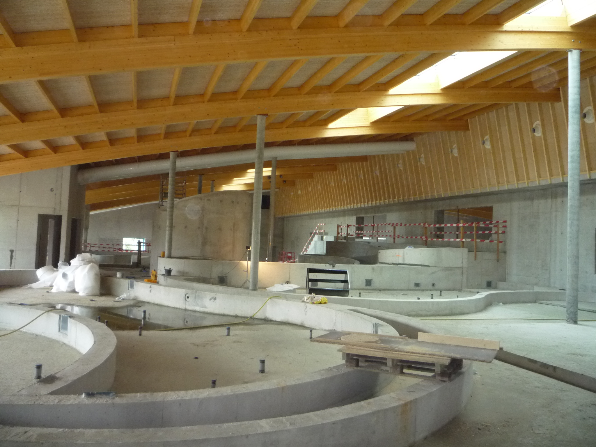 Nieuw olympiazwembad zal ook twee buitenbaden krijgen for Dhondt interieur brugge openingsuren